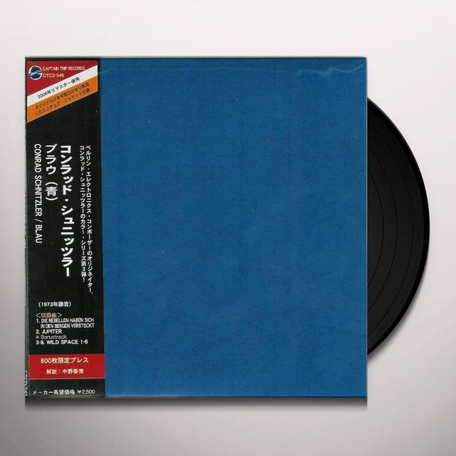 Conrad Schnitzler BLAU Vinyl Record