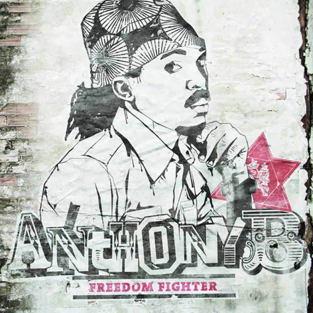 Anthony B FREEDOM FIGHTER Vinyl Record