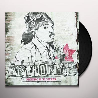 Anthony B FREEDOM FIGHTER Vinyl Record