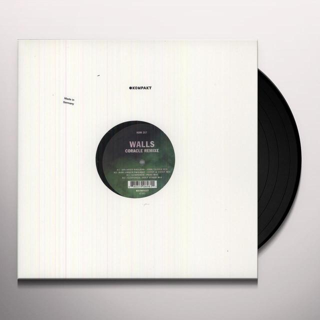Walls CORACLE REMIXE (EP) Vinyl Record