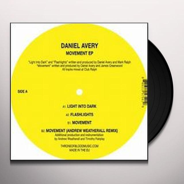 Daniel Avery MOVEMENT (EP) Vinyl Record