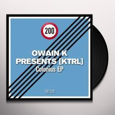 Owain K Presents: Ktrl COLONIUS Vinyl Record