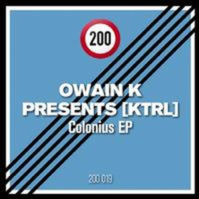 Owain K Presents: Ktrl COLONIUS (EP) Vinyl Record