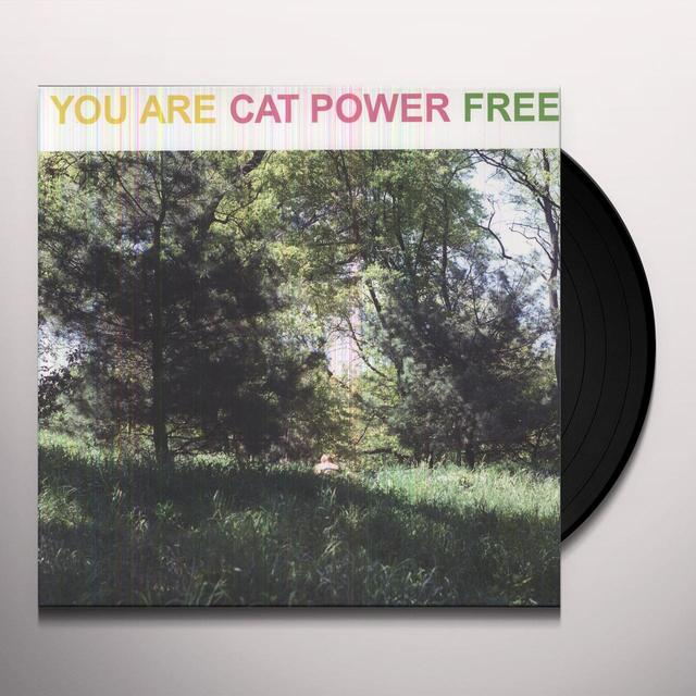 Cat Power YOU ARE FREE Vinyl Record