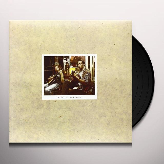 Ben Harper & Tom Freund PLEASURE & PAIN Vinyl Record - Limited Edition, 180 Gram Pressing, Remastered