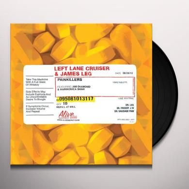 Left Lane Cruiser & James Leg PAINKILLERS Vinyl Record