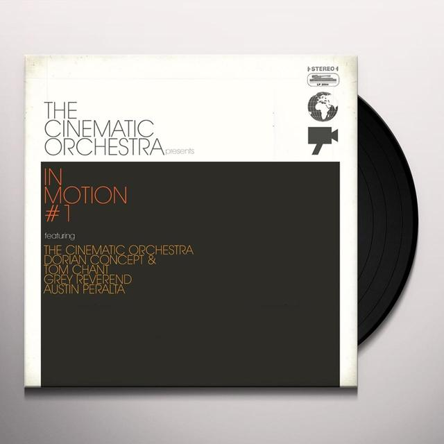 The Cinematic Orchestra IN MOTION # 1 Vinyl Record - 180 Gram Pressing