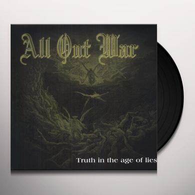 All Out War TRUTH IN THE AGE OF LIES Vinyl Record
