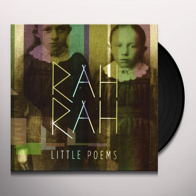 Rah Rah LITTLE POEMS Vinyl Record