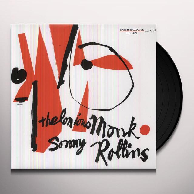 Thelonious Monk / Sonny Rollins THELONIOUS MONK & SONNY ROLLINS Vinyl Record