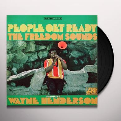 Wayne Henderson & Freedom Sounds PEOPLE GET READY Vinyl Record