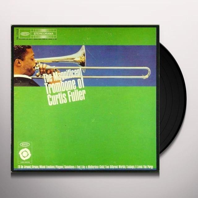 Curtis Fuller MAGNIFICENT TROMBONE Vinyl Record