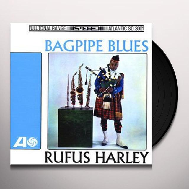 Rufus Harley BAGPIPE BLUES Vinyl Record