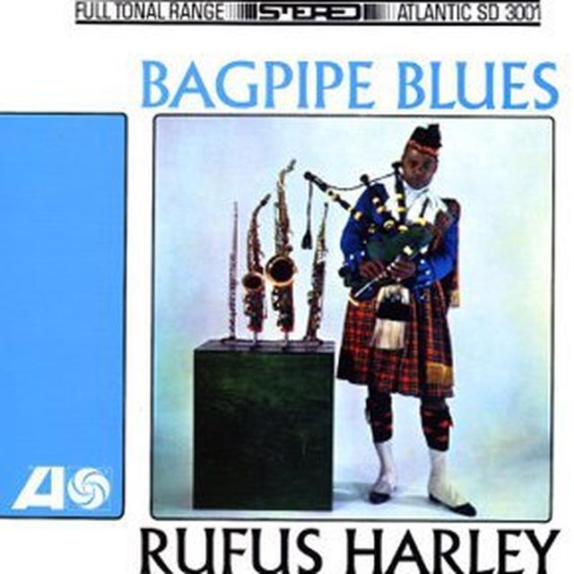 Rufus Harley BAGPIPE BLUES Vinyl Record
