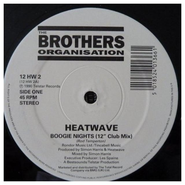 Heatwave BOOGIE NIGHTS / TOO HOT TO HANDLE Vinyl Record