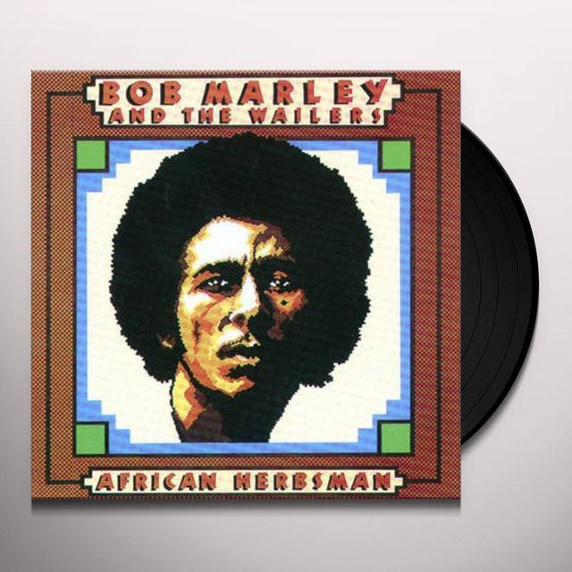 Bob Marley AFRICAN HERBSMAN Vinyl Record