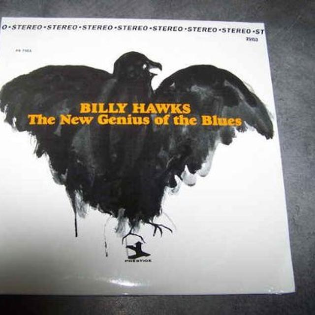 Billy Hawks NEW GENIUS OF THE BLUES Vinyl Record