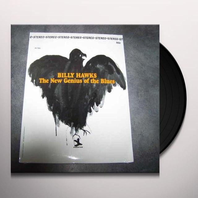 Billy Hawks NEW GENIUS OF THE BLUES Vinyl Record