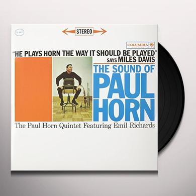 SOUND OF PAUL HORN Vinyl Record