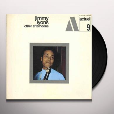 Jimmy Lyons OTHER AFTERNOONS Vinyl Record - 180 Gram Pressing