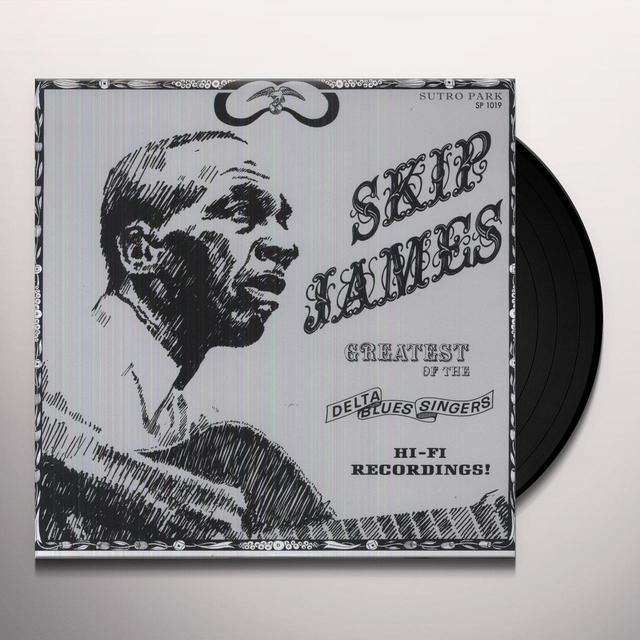 Skip James GREATEST OF THE DELTA BLUES SINGERS Vinyl Record