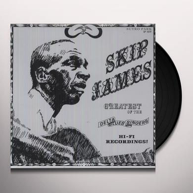 Skip James GREATEST OF THE DELTA BLUES SINGERS Vinyl Record - 180 Gram Pressing