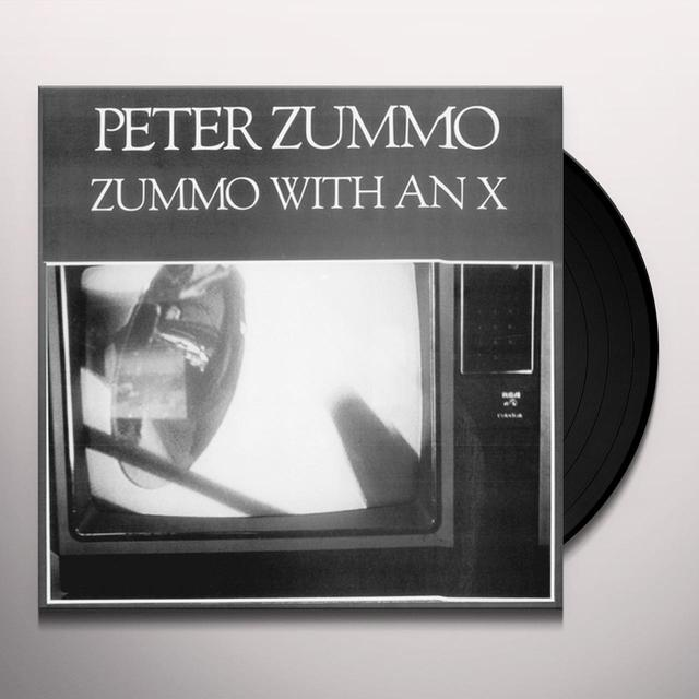 Peter Zummo ZUMMO WITH AN X Vinyl Record