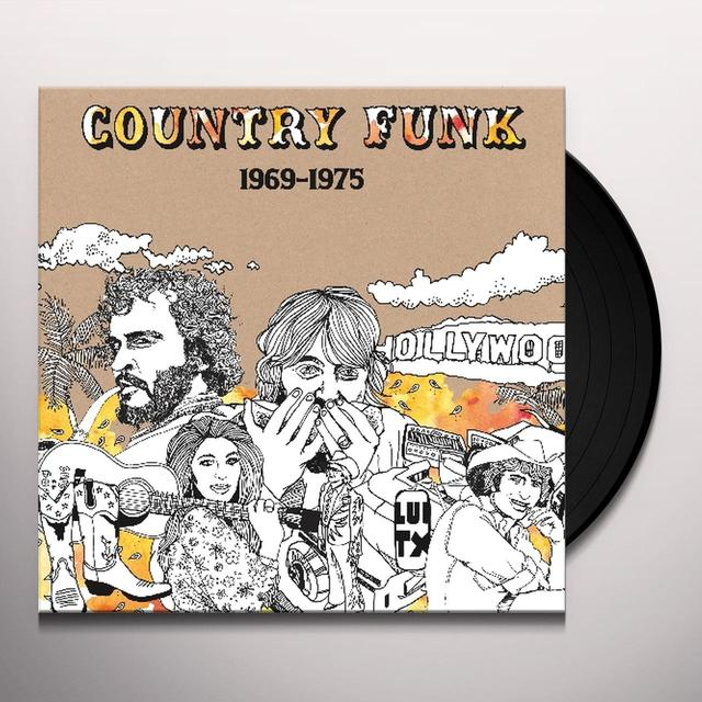 COUNTRY FUNK 1969-1975 / VARIOUS Vinyl Record - Remastered