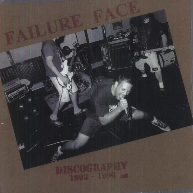 Failure Face 93-96 DISCOGRAPHY Vinyl Record