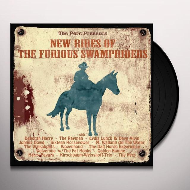 NEW RIDES OF THE FURIOUS SWAMPRICERS / VARIOUS Vinyl Record