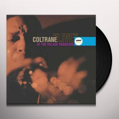 John Coltrane LIVE AT THE VILLAGE VANGUARD (BONUS TRACK) Vinyl Record - 180 Gram Pressing