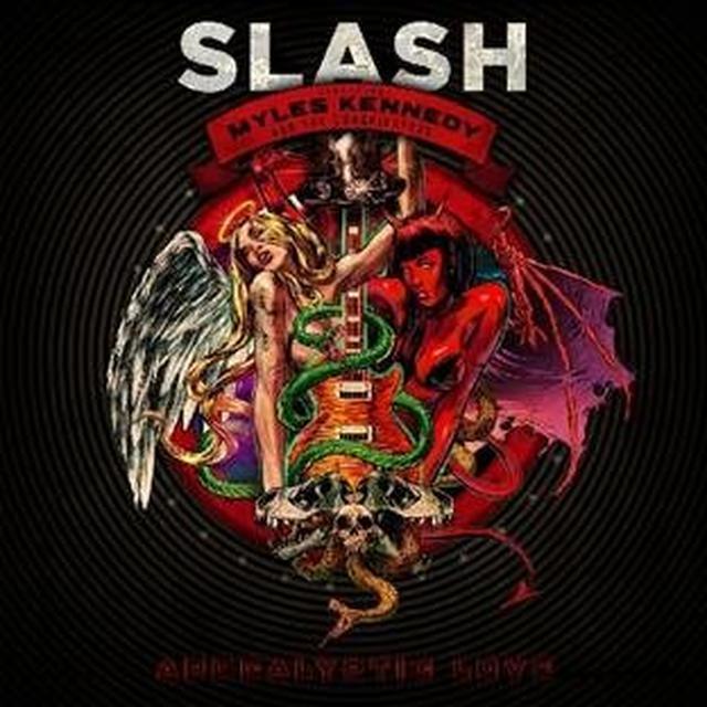 Slash APOCALYPTIC LOVE Vinyl Record - 180 Gram Pressing