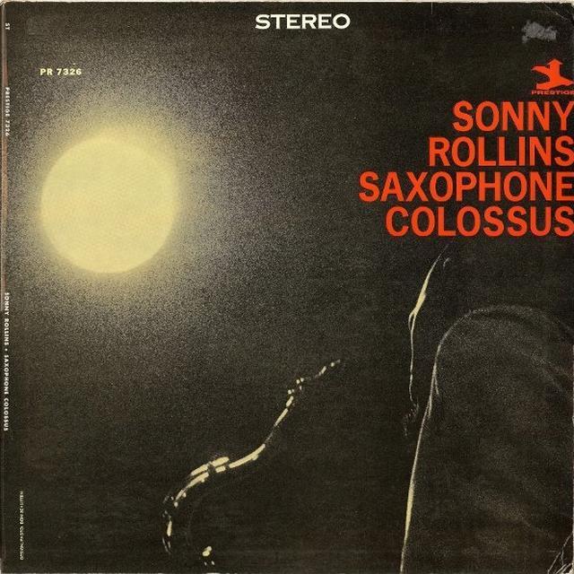 Sonny Rollins SAXOPHONE COLOSSUS Vinyl Record - 180 Gram Pressing