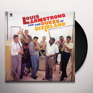 Louis Armstrong AND THE DUKES OF DIXIELAND Vinyl Record