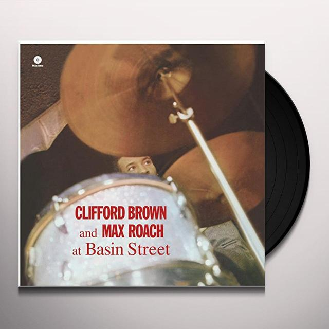 Clifford Brown & Max Roach AT BASIN STREET Vinyl Record