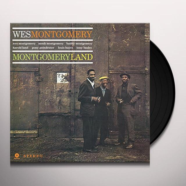 Wes Montgomery MONTGOMERYLAND (BONUS TRACK) Vinyl Record - 180 Gram Pressing