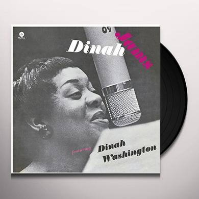 Dinah Washington / Clifford Brown DINAH JAMS (BONUS TRACK) Vinyl Record - 180 Gram Pressing