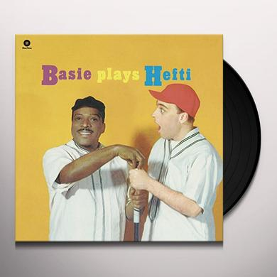 Count Basie BASIE PLAYS HEFTI (BONUS TRACK) Vinyl Record - 180 Gram Pressing