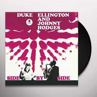 Duke Ellington / Johnny Hodges SIDE BY SIDE (BONUS TRACK) Vinyl Record - 180 Gram Pressing