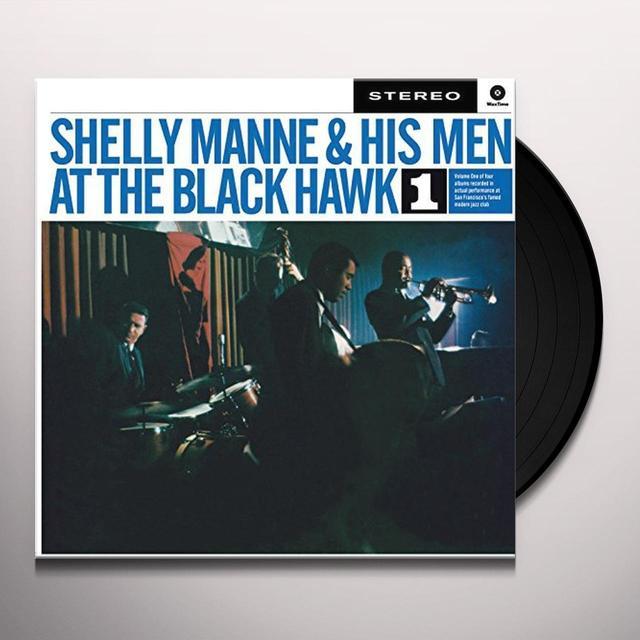 Shelly Manne & His Men AT THE BLACK HAWK 1 (BONUS TRACK) Vinyl Record - 180 Gram Pressing