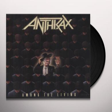 Anthrax AMONG THE LIVING Vinyl Record