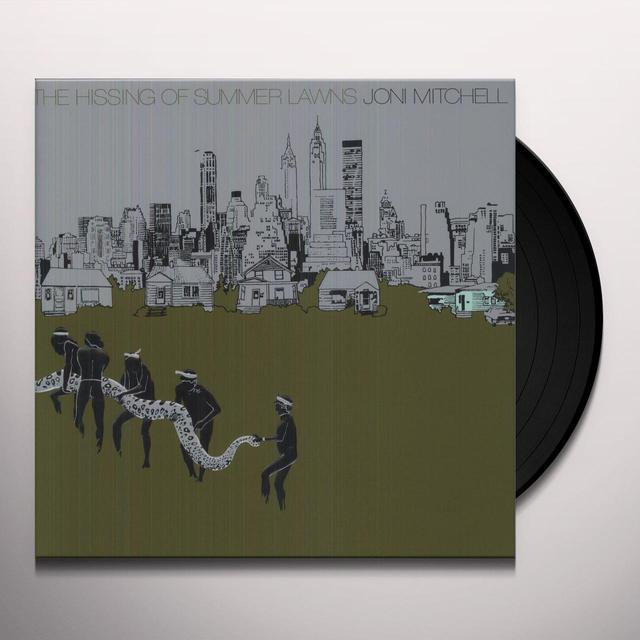 Joni Mitchell HISSING OF SUMMER LAWNS Vinyl Record - 180 Gram Pressing
