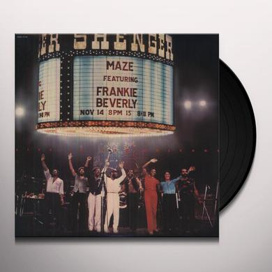 Maze / Frankie Beverly LIVE IN NEW ORLEANS Vinyl Record