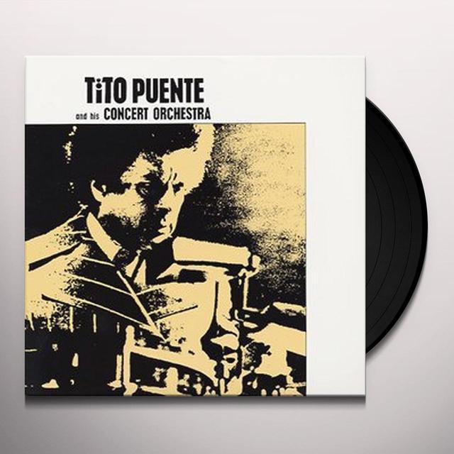 Tito Puente HIS CONCERT ORCHESTRA Vinyl Record