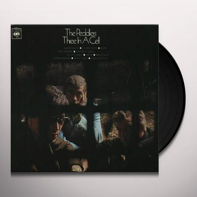 Peddlers THREE IN A CELL Vinyl Record
