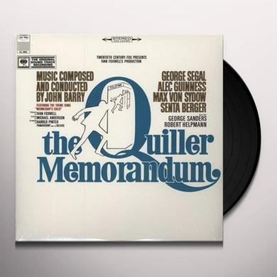 QUILLER MEMORANDUM / O.S.T. Vinyl Record