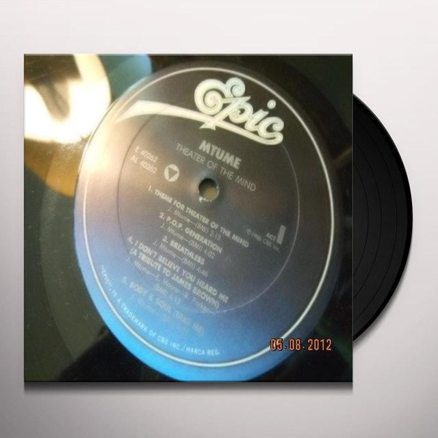 M-Tume THEATER OF THE MIND Vinyl Record