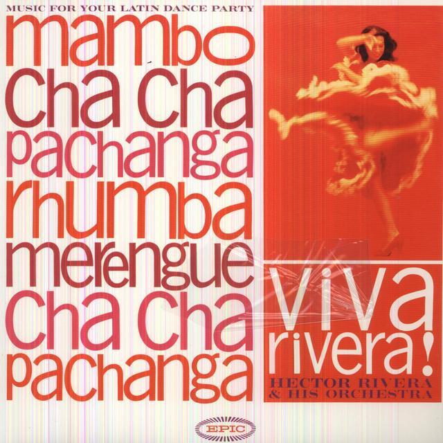Hector Rivera VIVA RIVERA Vinyl Record