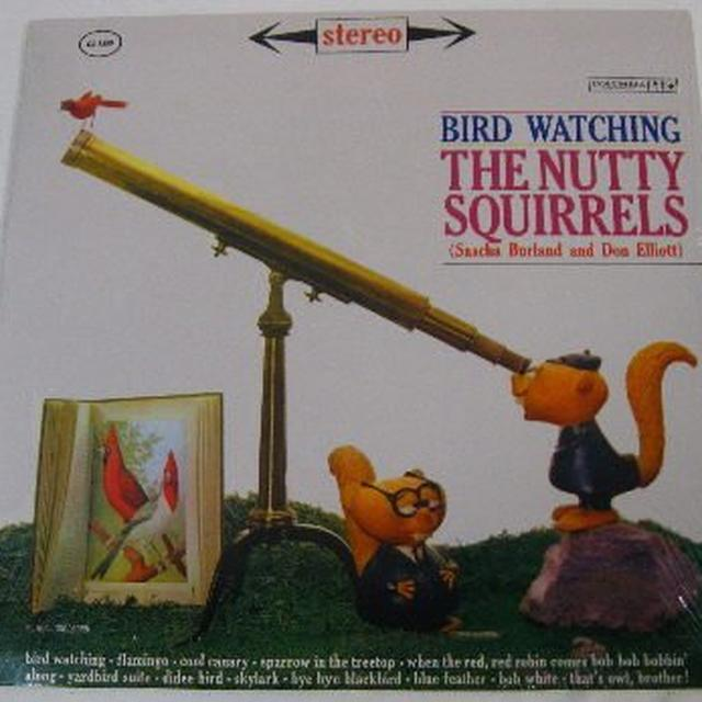 Nutty Squirrels BIRD WATCHING Vinyl Record