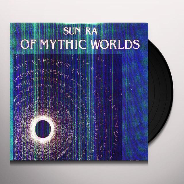 Sun Ra OF MYTHIC WORLDS Vinyl Record